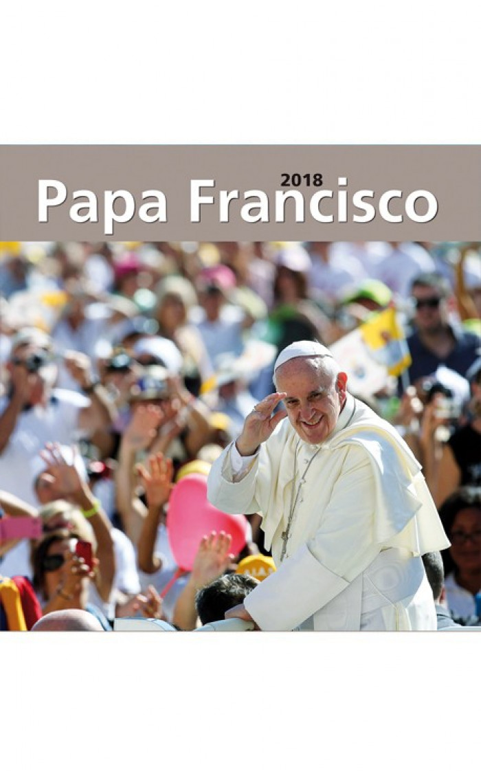 CALENDARIO PARED 2018 PAPA FRANCISCO