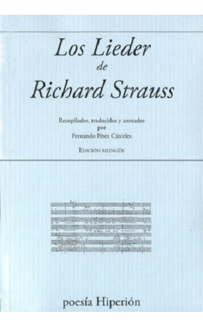 LIEDER DE RICHARD STRAUSS, LOS